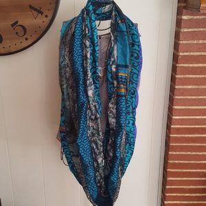 Boho Gypsy Silk Scarf